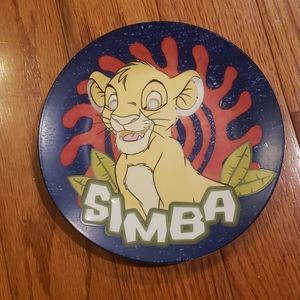 Disney Simba collectable Plate